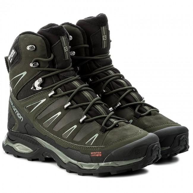 new style 6882d 100ad Trekker Boots SALOMON - X Ultra Winter Cs Wp 398503 27 V0  Black/Rosin/Castor Gray