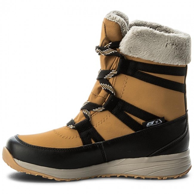 7938977810e6 Snow Boots SALOMON - Heika Ltr Cs Wp 394522 20 V0 Camel Gold Ltr Black Vintage  Kaki - Winter boots - High boots and others - Women s shoes -  www.efootwear. ...
