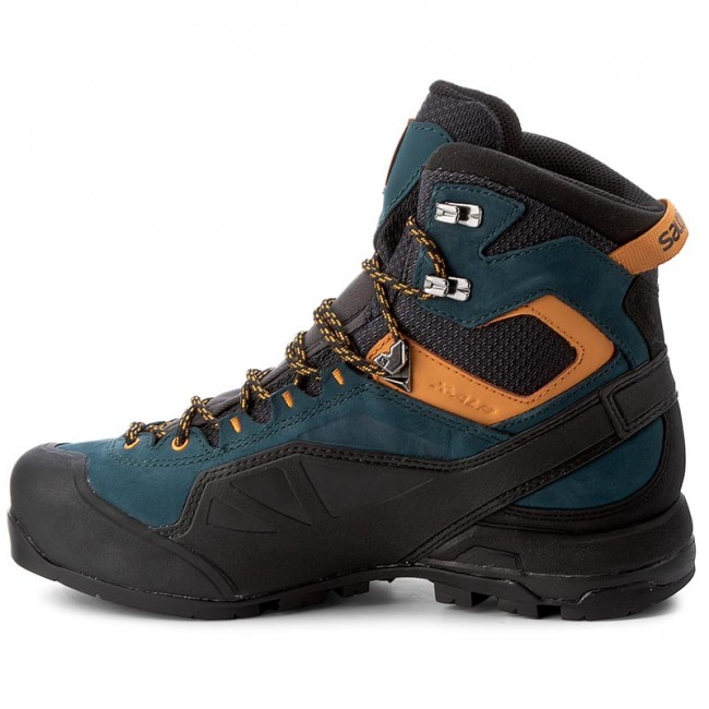 Trekker Boots SALOMON - X Alp MTN GTX GORE-TEX 398404 Phantom/Reflecting  Pond/Bright Marigold