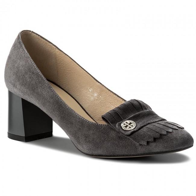 chaussures kotyl zamsz - 571 szary zamsz kotyl - talons - bas chaussures chaussures - femmes d78de5