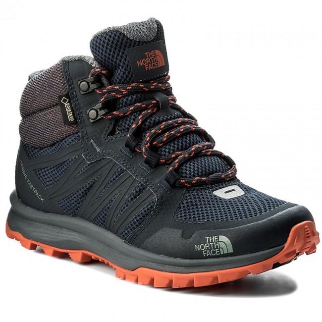 Trekker Boots THE NORTH FACE - Litewave Fastpack Mid Gtx GORE-TEX ... 31b9c4656241