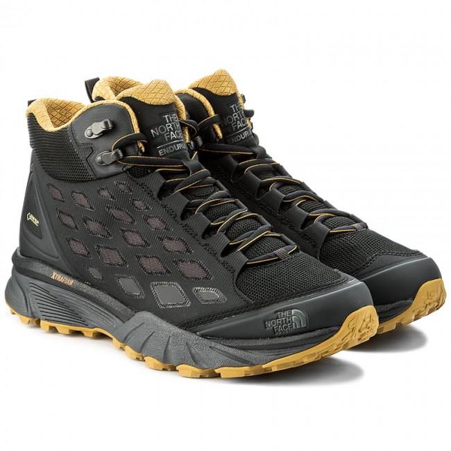 Trekker Boots THE NORTH FACE - Endurus Hike Mid Gtx GORE-TEX T92YAAZFL  Phantom Grey Arrowwood Yellow - Trekker boots - High boots and others -  Men s shoes ... a2560e23bb8