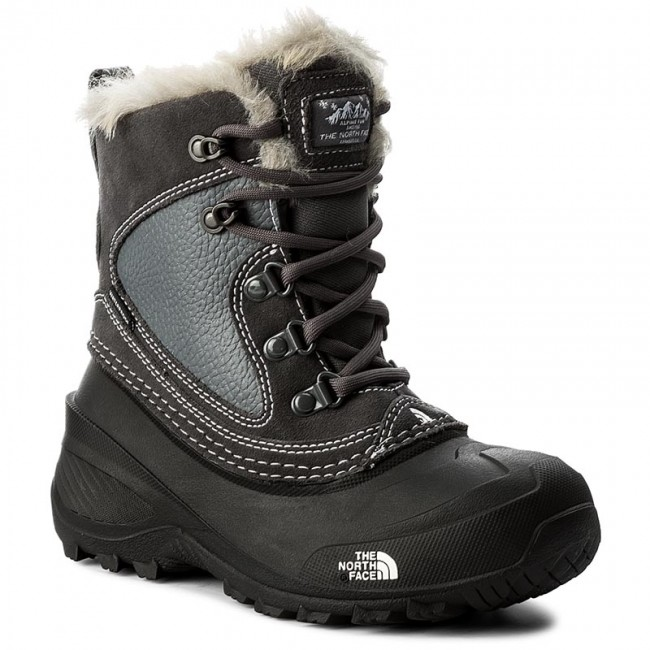 d976e7f688 Snow Boots THE NORTH FACE - Youth Shellista Extreme T92T5VLC2 Zinc Grey/Tnf  White
