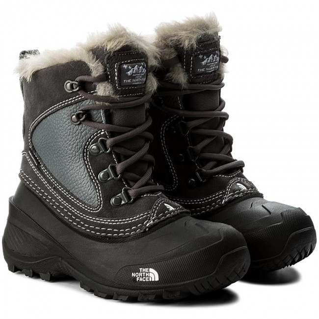 Snow Boots THE NORTH FACE Youth Shellista Extreme T92T5VLC2 Zinc GreyTnf White
