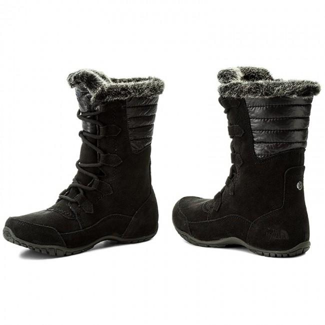 Snow Boots THE NORTH FACE - Nuptse Purna II T932Y7YXW Tnf Black Beluga Grey 413c4642e