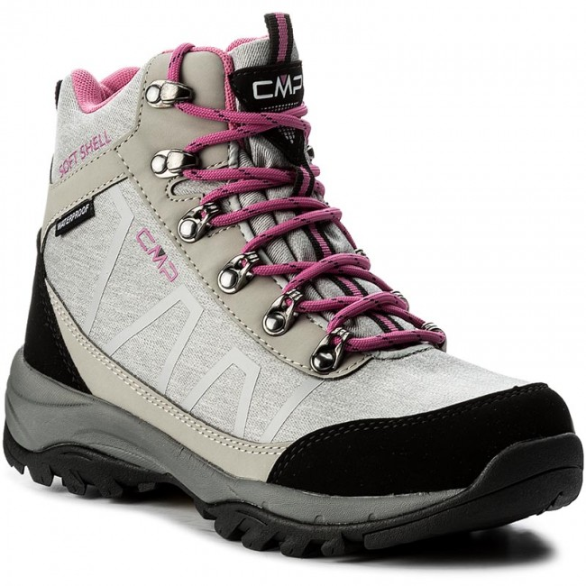 Trekker Boots CMP  Soft Naos Wmn Wp 3Q47466 Argento Mel U403  Trekker boots  High boots and others  Womens shoes       0000199890925