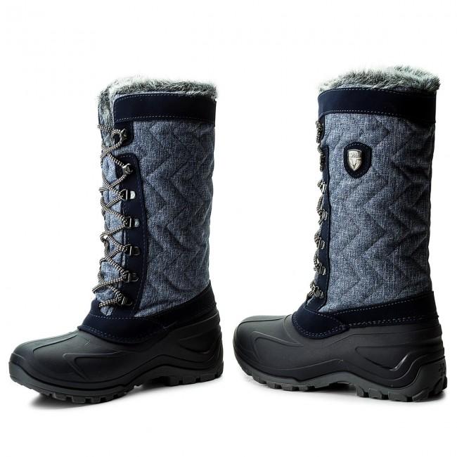 85f31c2ac1 Snow Boots CMP - Nietos Wmn 3Q47966 Denim Mel. L552 - Winter boots ...