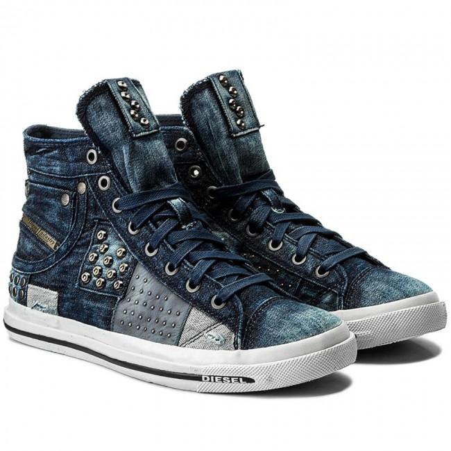 Sneakers DIESEL - Exposure I Y00023-P1655-T6067 Indigo TzwfYe4791
