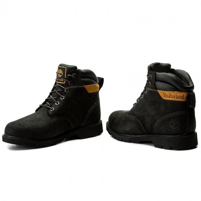 Hiking Boots TIMBERLAND - Leavitt Wp Lace Boot A1GU8 Black - Trekker ... 4a434316c59c