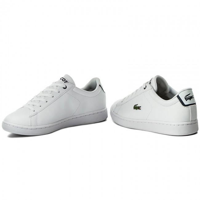 0af71c5a5 Sneakers LACOSTE - Carnaby Evo Bl 1 Spj 7-33SPJ1003042 Wht/Nvy - Sneakers -  Low shoes - Women's shoes - efootwear.eu