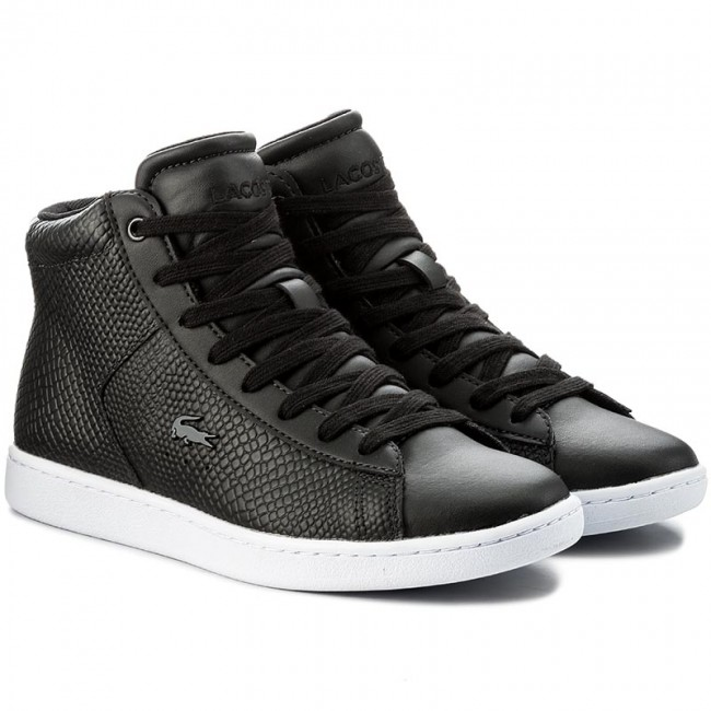 Sneakers LACOSTE - Carnaby Evo Mid 317 2 Spw 7-34SPW0015024 Blk ... bcd3a79e0e