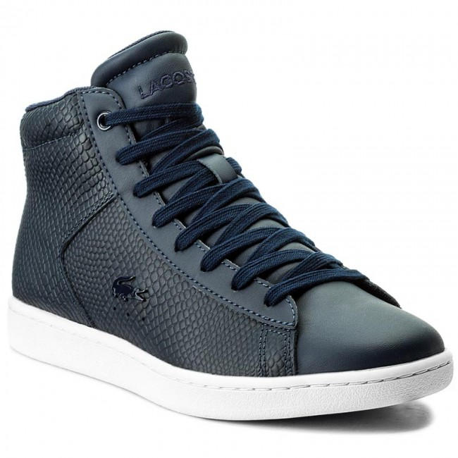 Sneakers LACOSTE - Carnaby Evo Mid 317 2 Spw 7-34SPW0015003 Nvy ... ca4ba35292
