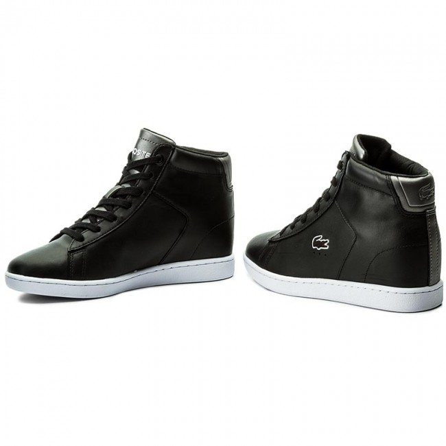 9eb10c6c8272e Sneakers LACOSTE - Carnaby Evo Wedge 317 3 Spw 7-34SPW0016024 Blk ...