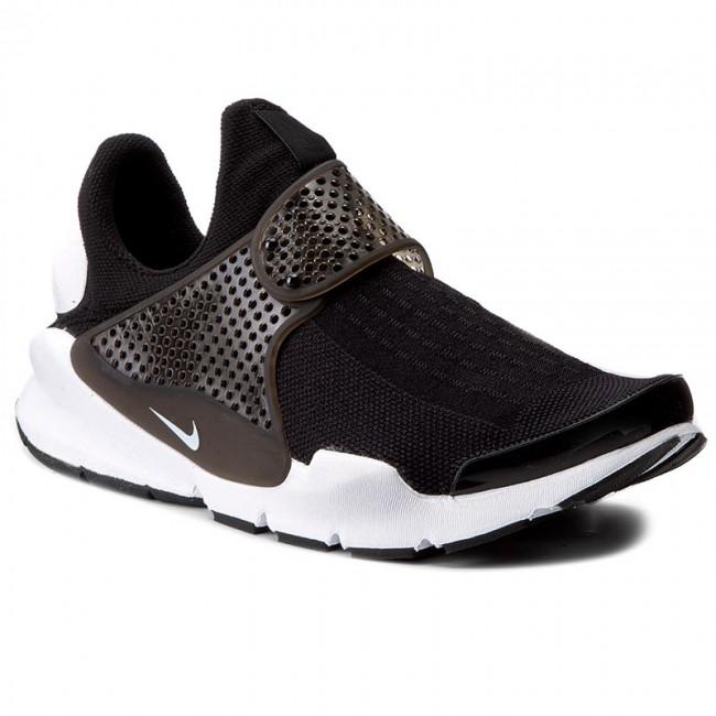 Shoes NIKE - Sock Dart Kjcrd 819686 005 Black White - Sneakers - Low ... 0ee3c62ce