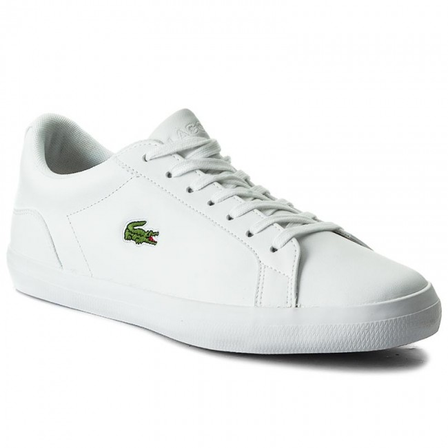 e2df7dfb81a023 Sneakers LACOSTE - Lerond Bl 1 Cam 7-33CAM1032001 Wht - Sneakers ...