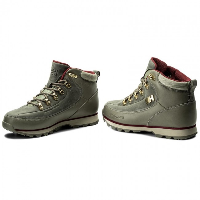 Trekker Boots HELLY HANSEN - W The Forester 105-16.710 Laurel Oak Natura  6d25f45918
