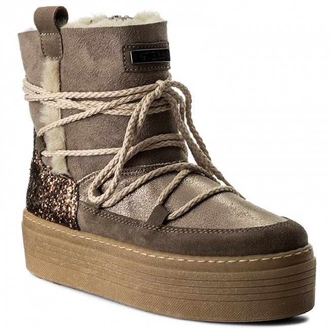Boots GUESS - Claudia FLCLD4 ELE10 TAUPE - Boots - High boots and ... 6acc003732a8