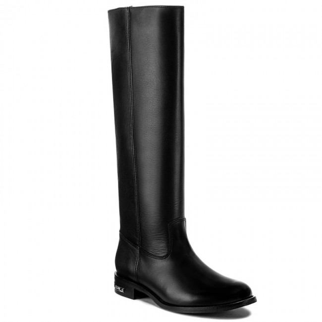 Knee High Boots GUESS  Calia FLCLI4 LEA11 BLACK   Kneehigh boots  High boots and others  Womens shoes       0000199906404