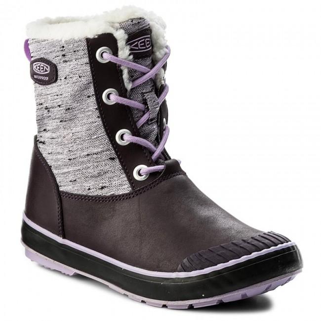 ef4e90ccf1d Snow Boots KEEN - Elsa Boot Wp 1015259 Plum/Pastel Lilac - Trekker ...