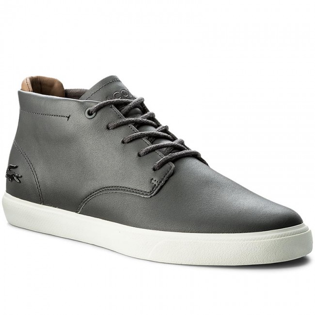 b2171d4cc Boots LACOSTE - Espere Chukka 317 1 Cam 7-34CAM0013248 Dk Gry ...