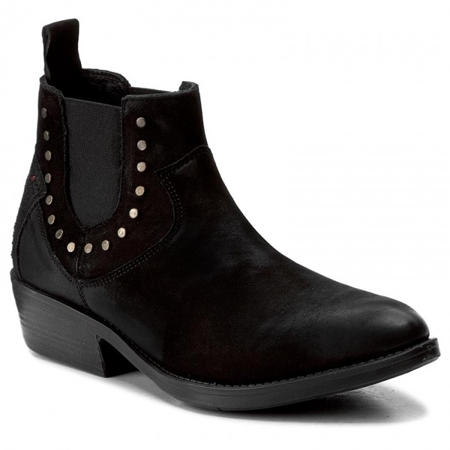 Ankle Boots WRANGLER  Pakwa Studs WL172620 Black 62  Boots  High boots and others  Womens shoes       0000199913556