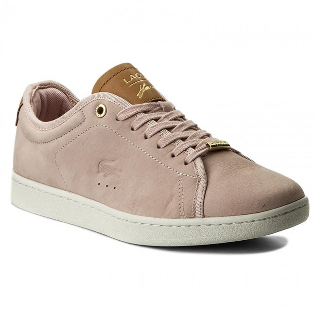 d4fa30ffe30048 Sneakers LACOSTE - Carnaby Evo 317 8 Spw 7-34SPW00432E5 Lt Pink Off ...