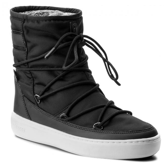 Snow Boots MOON BOOT - Pulse Nylon Plus Wp 24102500006 Nero Argento ... 71e194a5f5a
