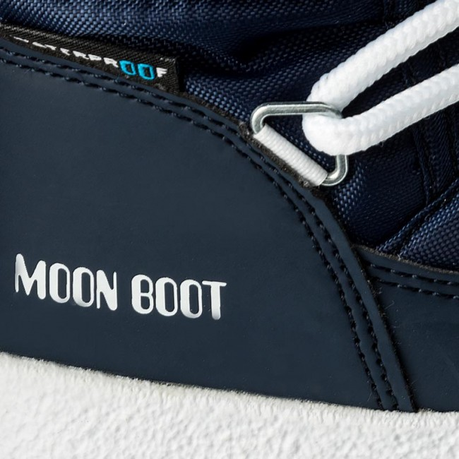 2cdbcc617c5 Snow Boots MOON BOOT - We Quilted Jr Wp 34051500002 B.Navy/Royal ...