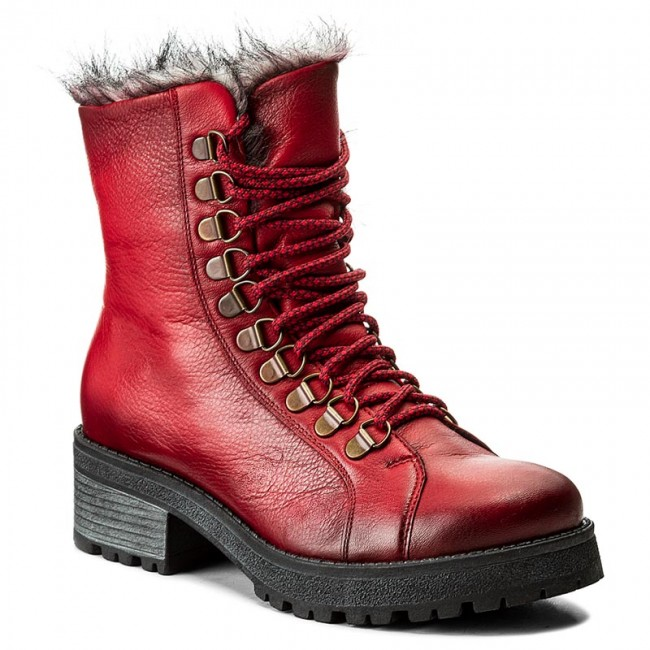 Boots MACIEJKA  0332608003 Red  Boots  High boots and others  Womens shoes       0000199928482