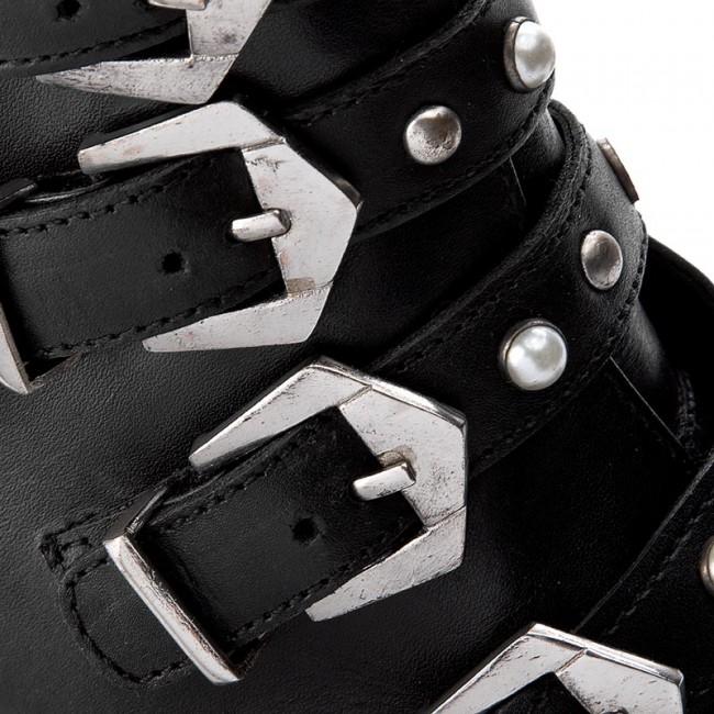 d4003547a69 Boots STEVE MADDEN - Colton Biker Boot 91000757-10001-01001 Black ...