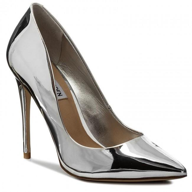 Stilettos STEVE MADDEN  Daisie Pump 910007430700414001 Silver  Stilettos  Low shoes  Womens shoes       0000199929618