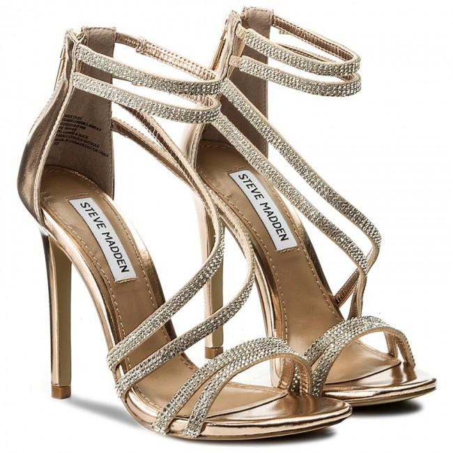 24446fa07c0 Sandals STEVE MADDEN - Sweetest Sandal 91000523-0S0-07011-15002 Rose Gold