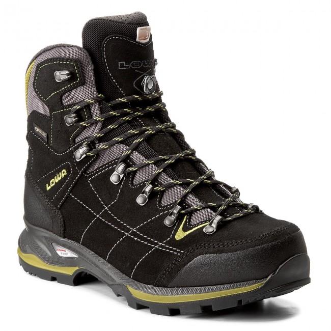 Trekker Boots LOWA - Vantage Gtx Mid GORE-TEX 210698 Schwarz Grun ... 9eb9eacaac2