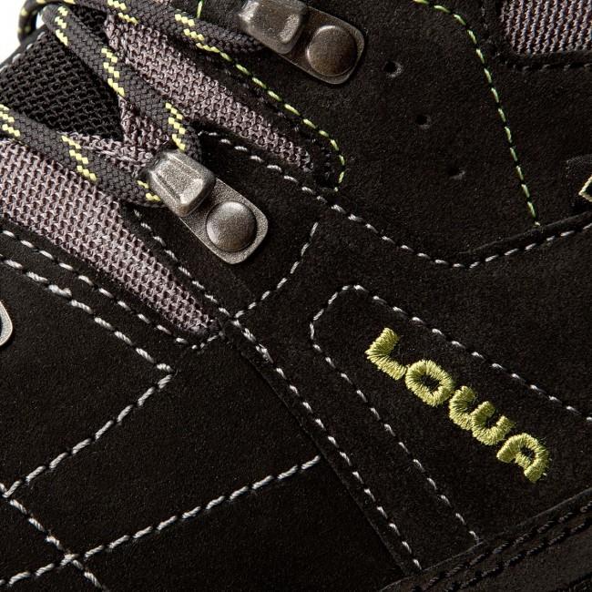 Trekker Boots LOWA - Vantage Gtx Mid GORE-TEX 210698 Schwarz Grun 9974 6ec0b54cd1b