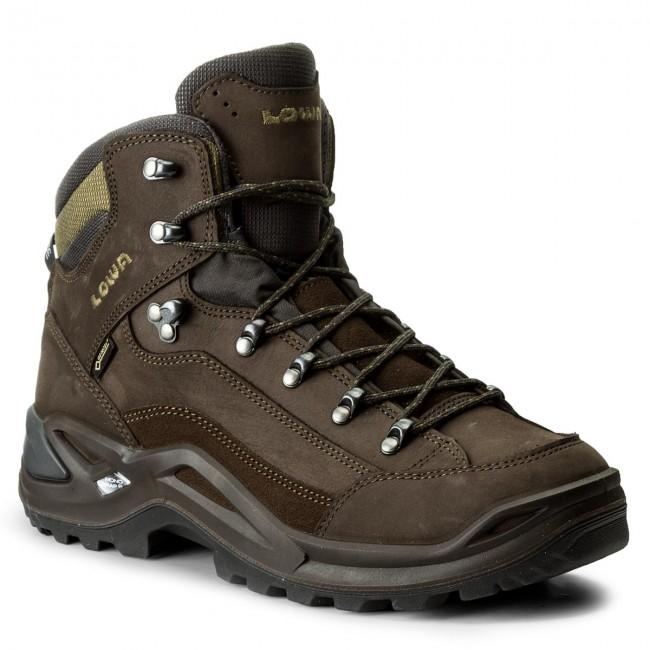 Trekker Boots LOWA - Renegade Gtx Mid GORE-TEX 310945 Slate/Olive 9784
