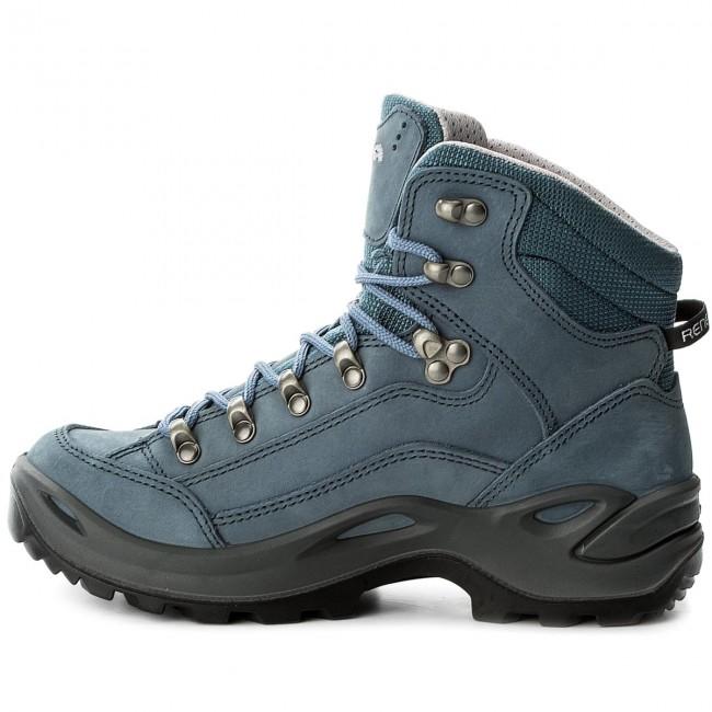 Trekker Boots LOWA - Renegade Gtx Mid Ws GORE-TEX 320945 Graublau 0918 -  Trekker boots - Sports shoes - Women s shoes - www.efootwear.eu c7036d2f06c
