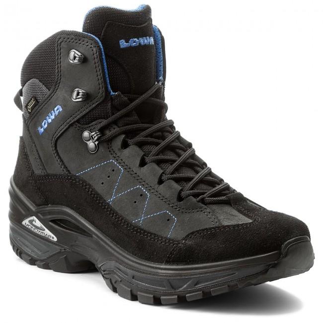 Trekker Boots LOWA - Toro II Gtx Mid GORE-TEX 310711 Black Blue 9940 ... e18d3a7ec9a