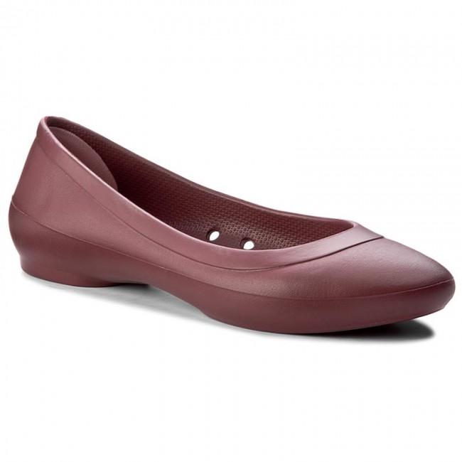 Crocs Lina Flat 203404 Garnet vatEL