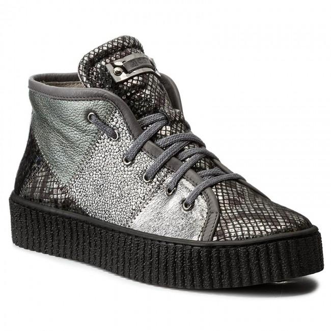 Sneakers NESSI - 17213 Czarny Gad 21DOI