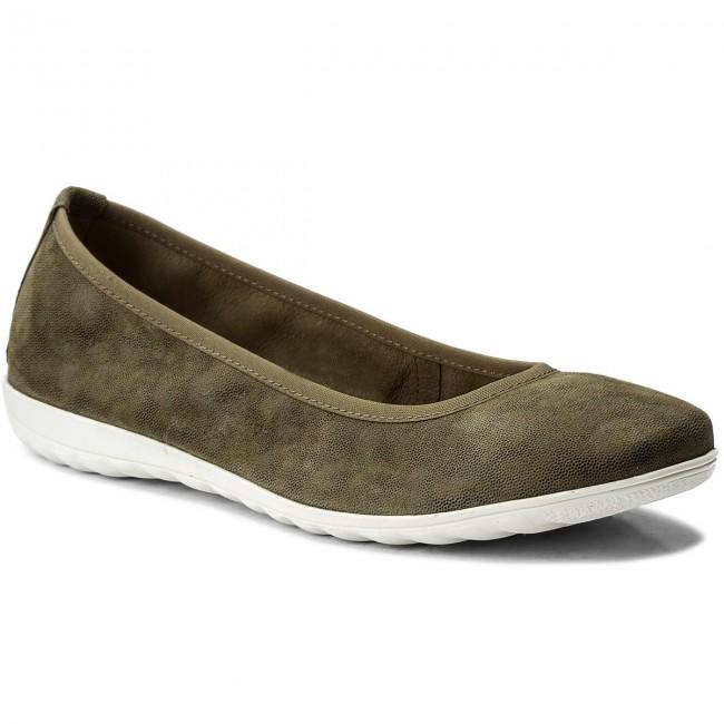 Flats Flats Flats 731 shoes CAPRICE 20 Multi Ballerina 22142 Khaki 9 Low rrqpvYw