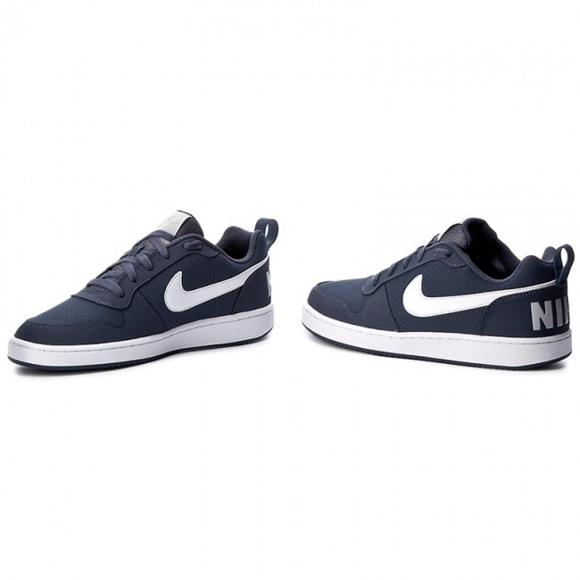 pretty nice 28d42 b6225 Shoes NIKE - Court Borough Low 838937 401 Thunder Blue White Wolf Grey