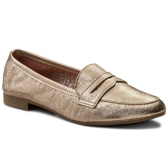 Shoes MARCO TOZZI - 2-24213-30 Rose Metallic 952 - Flats - Low shoes ... d8863cafdc