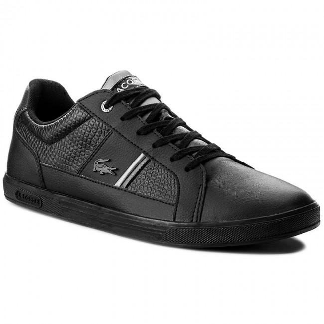 03c3cfc530b54 Sneakers LACOSTE - Europa 417 1 Spm 7-34SPM0044024 Blk - Sneakers ...