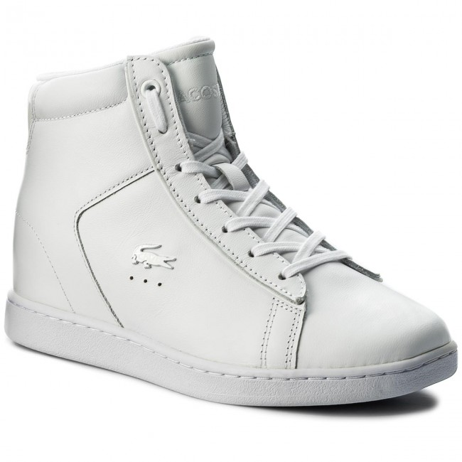 919350243536e Sneakers LACOSTE - Carnaby Evo Wedge 417 1 Spw 7-34SPW0017001 Wht ...