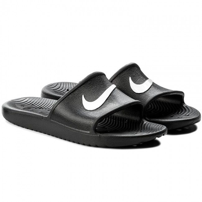 7e414d138fd073 Slides NIKE - Kawa Shower 832655 001 Black White - Clogs and mules - Mules  and sandals - Men s shoes - www.efootwear.eu