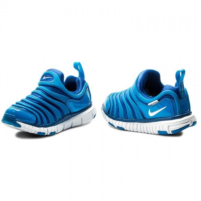 267b0f3b2fff Shoes NIKE - Dynamo Free (PS) 343738 419 Blue Jay White Blue Orbit ...