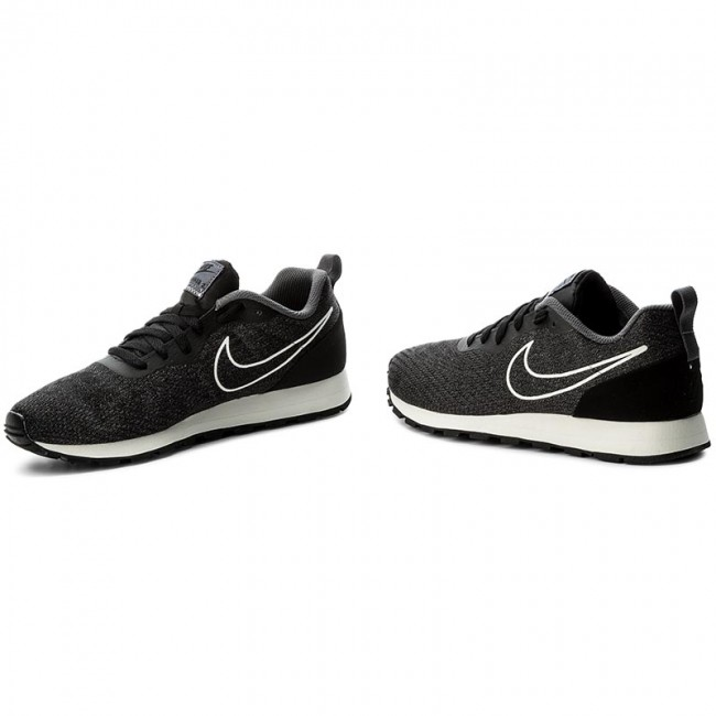size 40 e6824 69104 Shoes NIKE - Md Runner 2 Eng Mesh 916774 002 Black Black Dark Grey