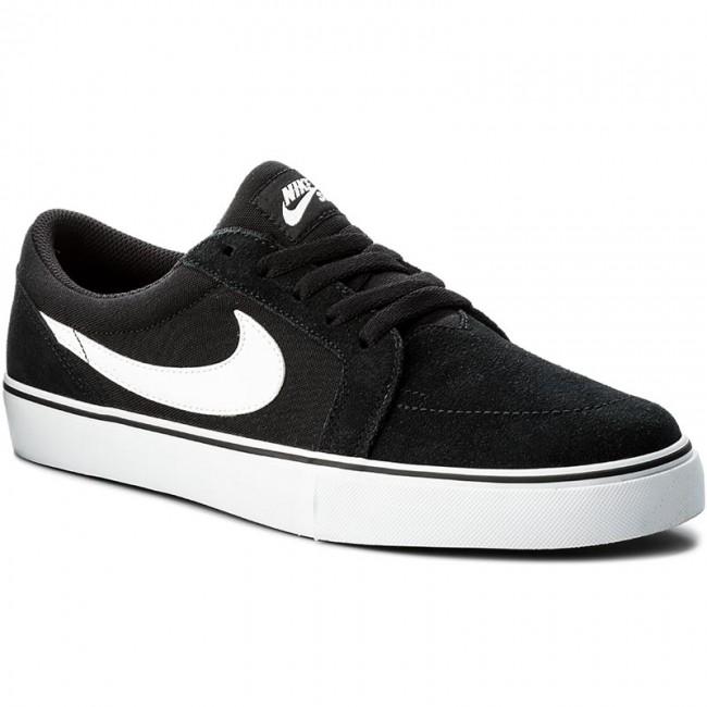 Shoes NIKE Sb Satire II 729809 001 Black/White Plimsolls Low