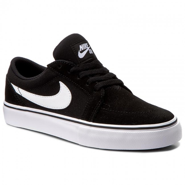 Shoes NIKE - Satire II (Gs) 729810 001 Black White - Sneakers - Low ... bdd94361dc0a2