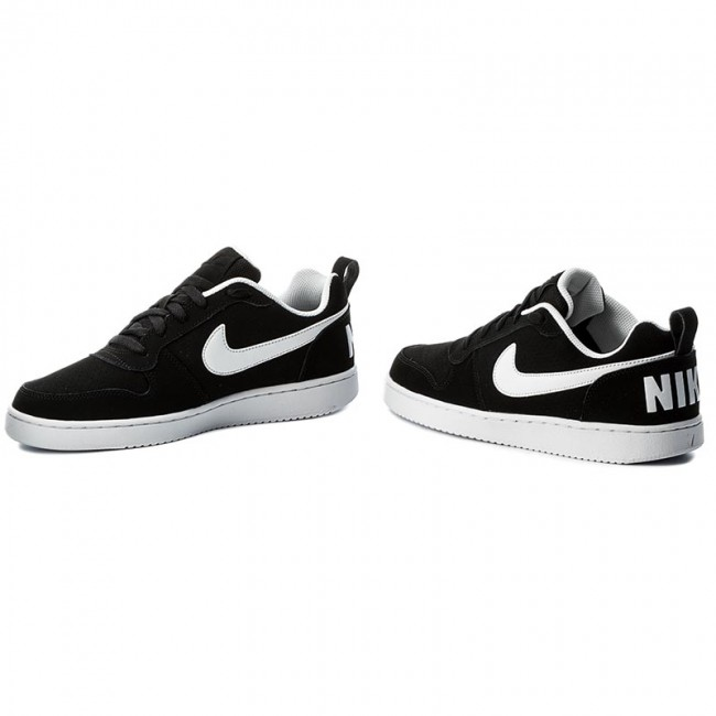 sports shoes 91a92 cd031 Shoes NIKE - Court Borough Low 838937 010 Black White